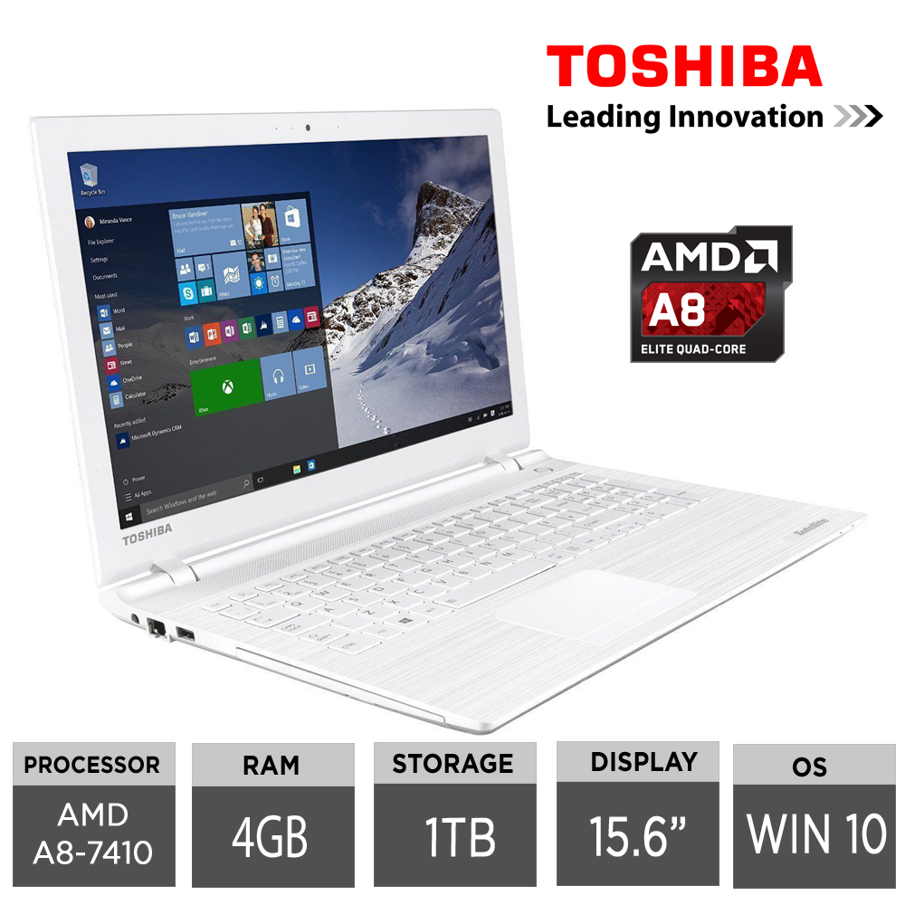 Toshiba Satellite C55D C 17Q 156 Quad Core Laptop AMD A8