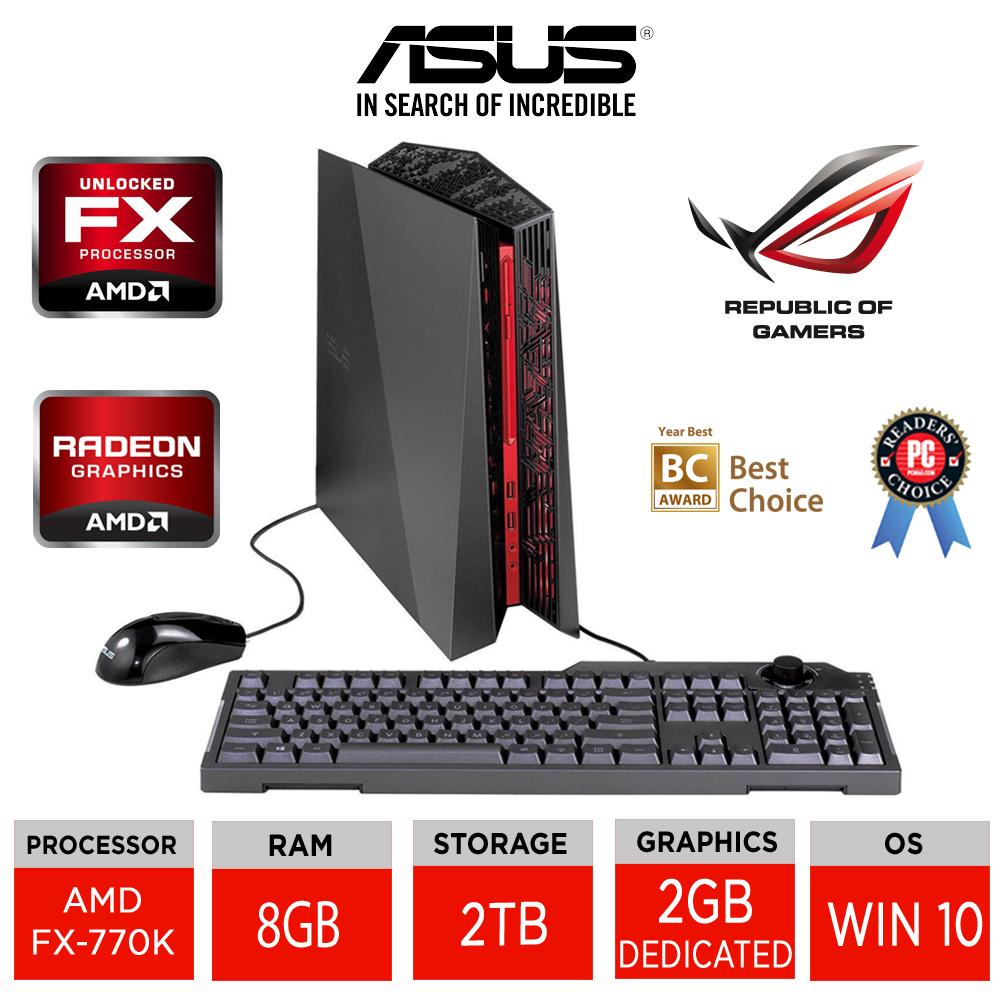 ASUS ROG G20BM-UK006T Gaming Desktop PC AMD FX-770K Quad