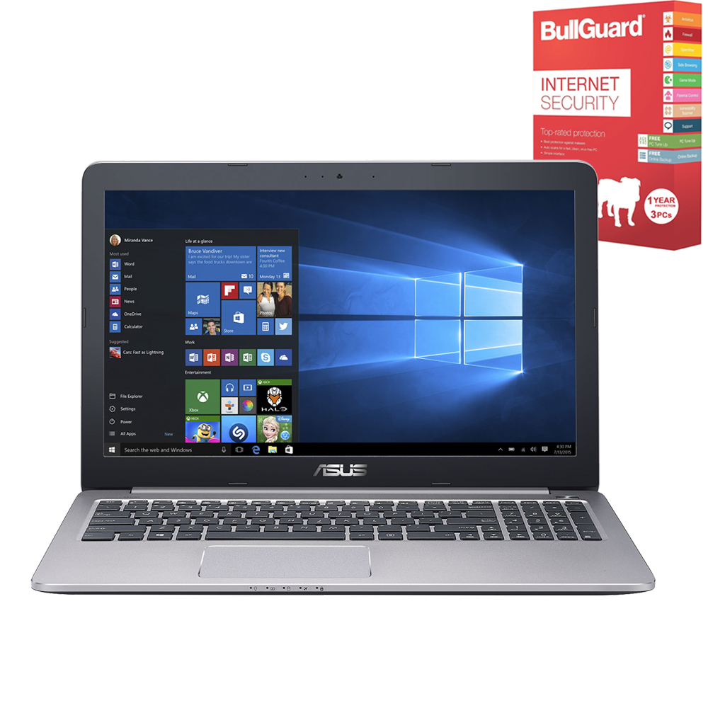 asus k501ux 15 6 gaming laptop intel core i7 16gb ram 256gb ssd windows 10 ebay. Black Bedroom Furniture Sets. Home Design Ideas