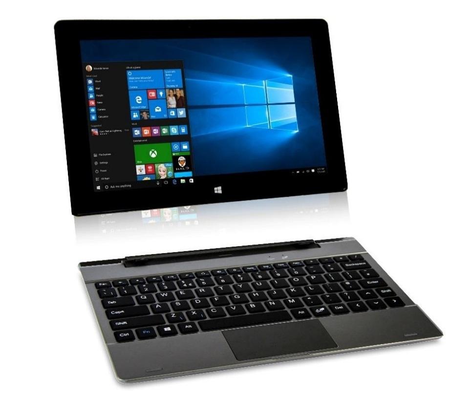 connect duo tab 10 1 convertible laptop tablet 2gb ram 32gb storage windows 10 ebay. Black Bedroom Furniture Sets. Home Design Ideas