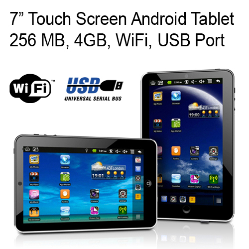 4GB Portable Android Tablet