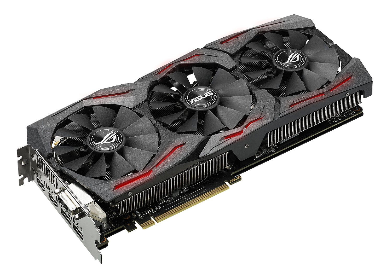 ASUS Graphics Card ROG Strix Nvidia GeForce GTX 1070, 8GB