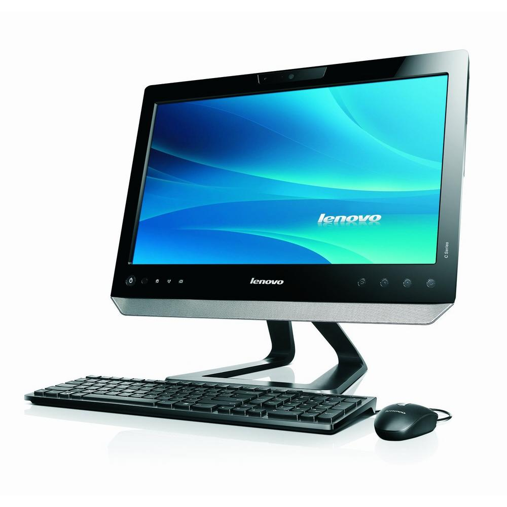 lenovo c200 all in one desktop pc computer touch screen article distributed