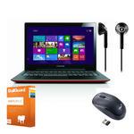"Lenovo U330 13.3"" Touchscreen Core i7 Laptop Intel-4500U 4 GB RAM 500 GB+8GB SSD"