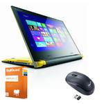 """Lenovo Flex 14 14"""" Mulimedia Laptop Intel Core i3-4010U 4 GB RAM 500 GB+8 GB SSD"""