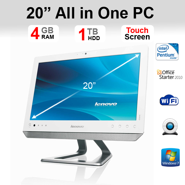 lenovo c200 all in one desktop pc computer touch screen features rarely constitute