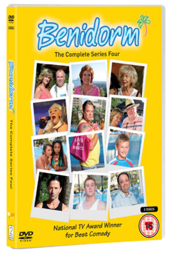 Benidorm-Series-4-2-Discs-Jake-Canuso-Kathryn-Drysdale-New-DVD