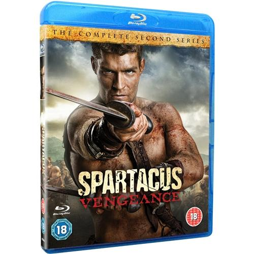 Spartacus-Vengeance-4-Discs-Liam-McIntyre-Manu-Bennett-New-Blu-Ray