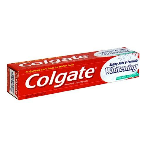 Colgate-Baking-Soda-amp-Peroxide-Whitening-Toothpaste-Frosty-Mint-Gel-USA-Stock