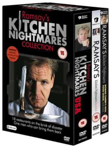 Ramsay S Kitchen Nightmares Box Set  Discs