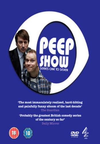 Peep Show : Series 1-7 - Robert Webb - New DVD