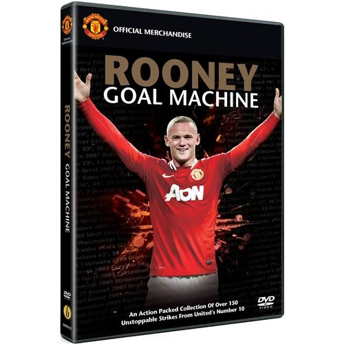 Wayne-Rooney-Goal-Machine-Manchester-United-New-DVD