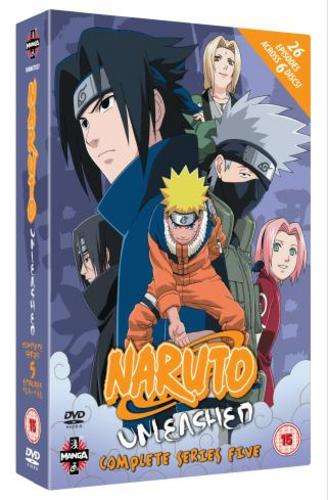 Naruto-Unleashed-Complete-Series-5-Manga-New-DVD