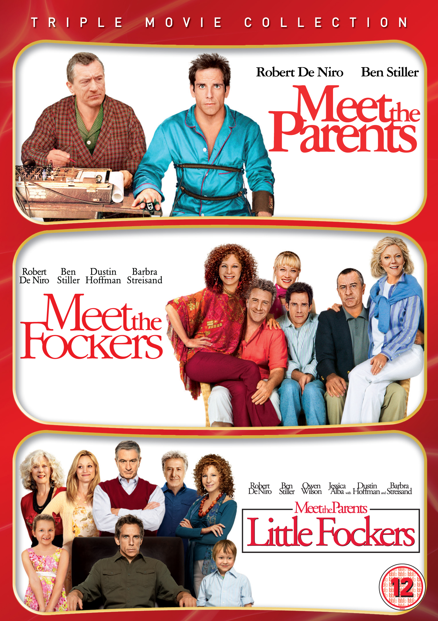 Meet the Parents / Meet the Fockers / Little Fockers - NEW ...