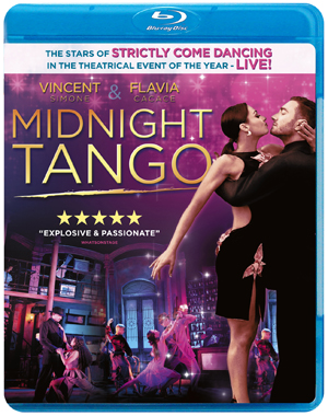 Midnight Tango - Vincent Simone, Flavia Cacace - New Blu-Ray