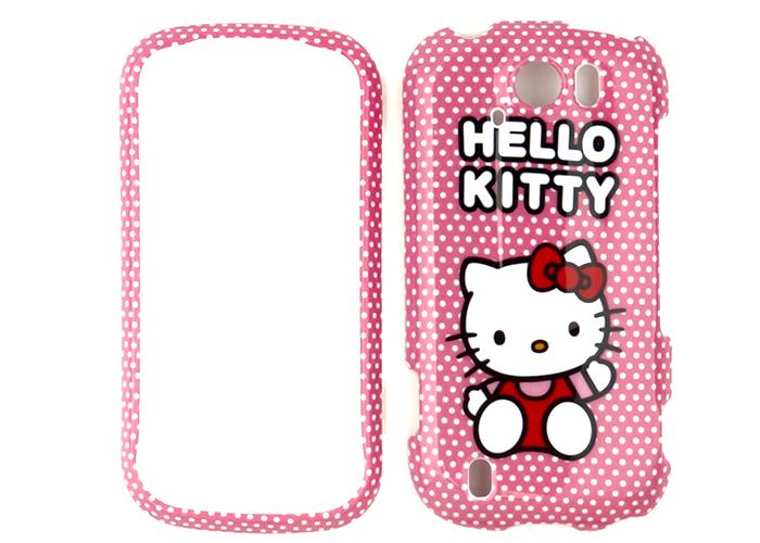 Hello Kitty Black Phone Case Hard Cover For T Mobile myTouch 4G Slide