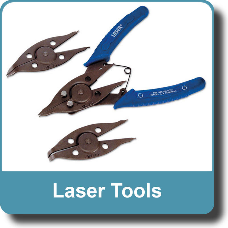 NEW Genuine LASER 0684 Circlip Pliers - 4 application