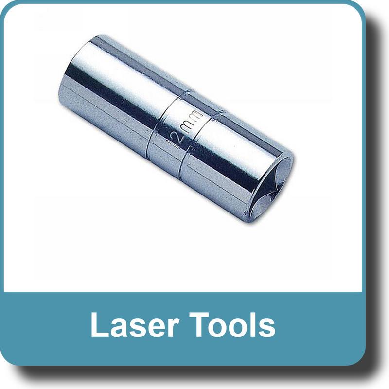 """NEW Genuine LASER Spark Plug Socket - 18mm 1/2""""D 1583"""