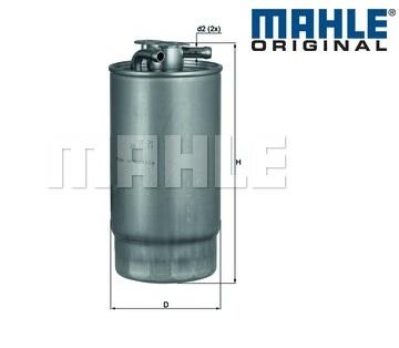 fuel filter mahle kl160 1 ebay. Black Bedroom Furniture Sets. Home Design Ideas