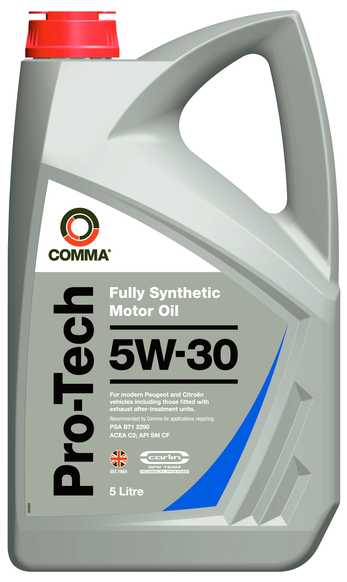 Comma oils pro tech 5w30 fully synthetic engine oil 5 for Fully synthetic motor oil