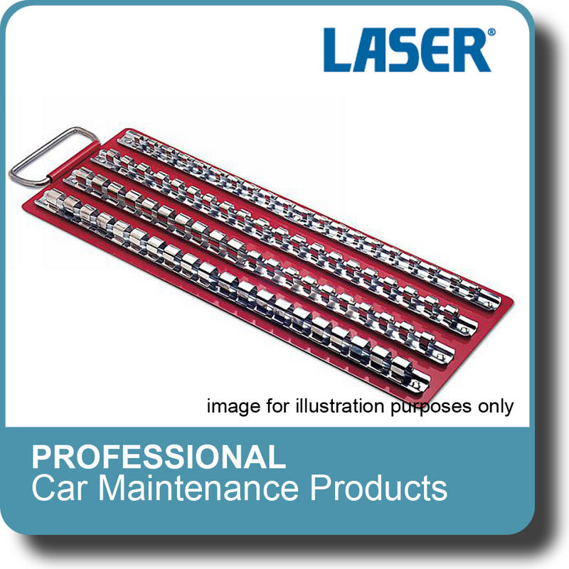 NEW Genuine LASER - Socket Rack/Tray With 4 Fixed Rails 2664