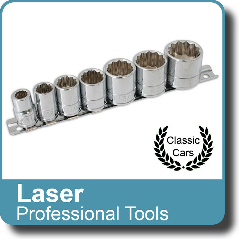 "NEW Genuine LASER - Socket Set - Whitworth 3/8""D 7pc 3474"
