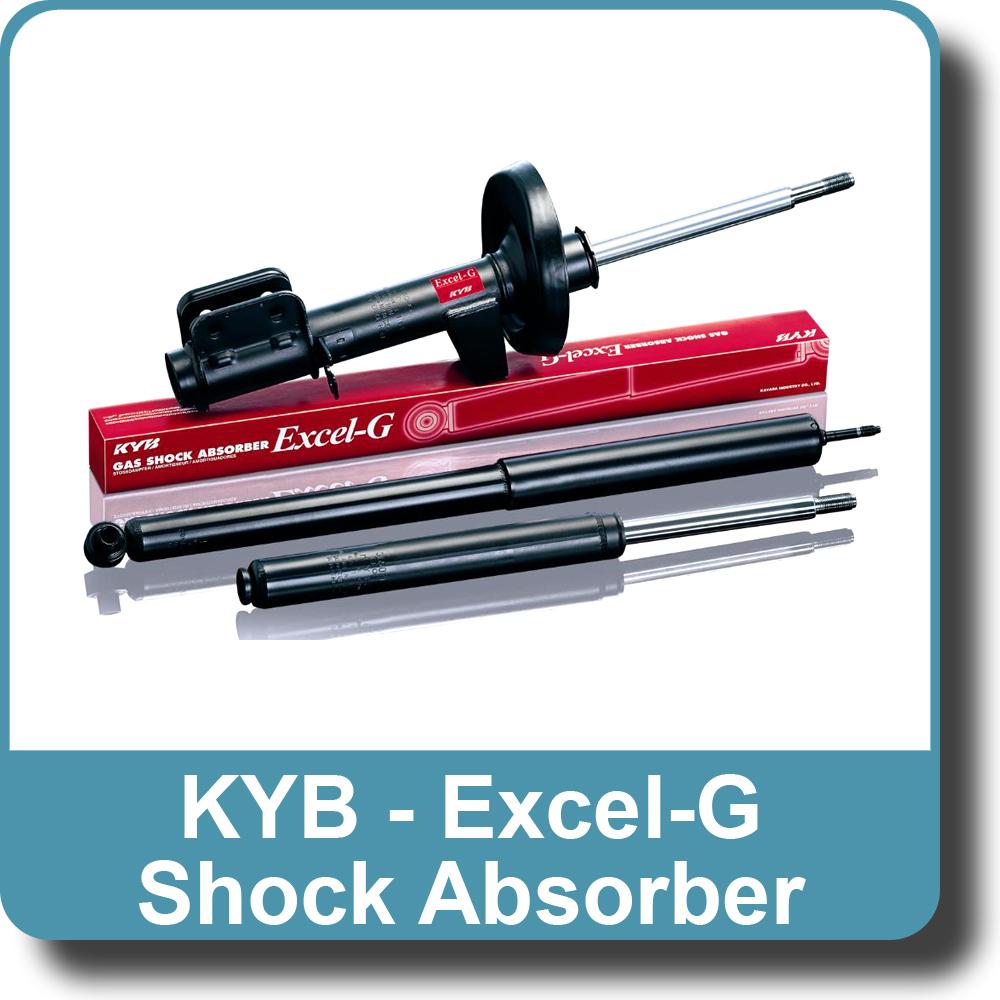 1 x kyb rear excel-g shock absorber 344408 peugeot 307 | ebay