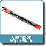 Champion 2x Wiper Blades CONTACT DX - Direct Fit Flat Blade (RHD) DXR48D/B0 48cm