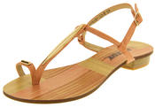 Womens BETSY Open T-Bar Toe Ring Sandals Thumbnail 9