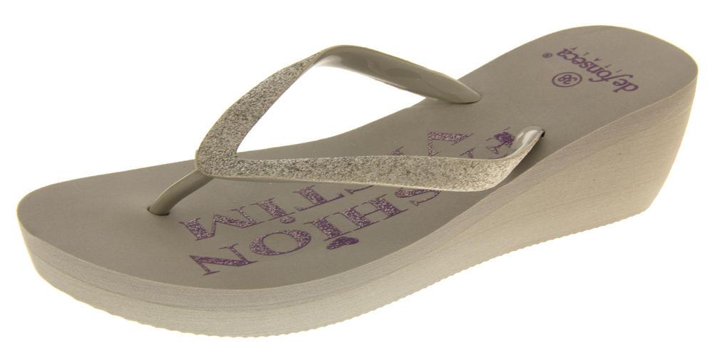 Womens Fashion Victim Summer Wedge Sandals