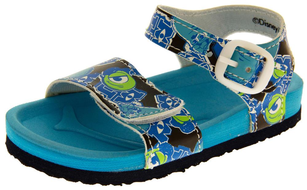 Boys Disney Monsters University Summer Sandals,Sz,Lads Shoes,Kids,Size 5,6,7,8,9