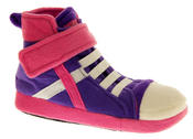 De Fonseca Kids High Top Trainer Boot Slippers Thumbnail 9