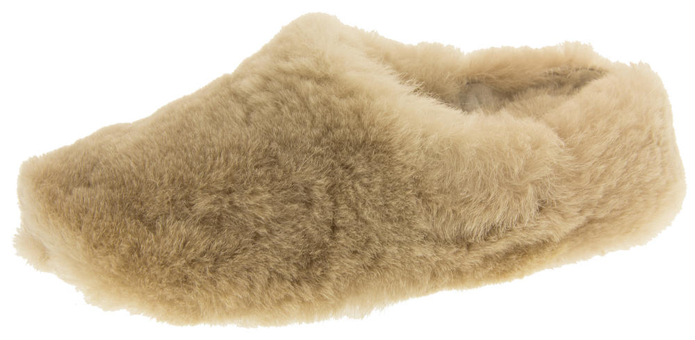 Ladies Genuine Sheepskin Mule Slippers