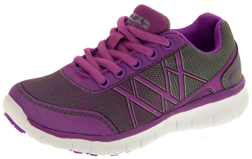 Girls Gola AGA652 G-Blast Lightweight Sports Trainers