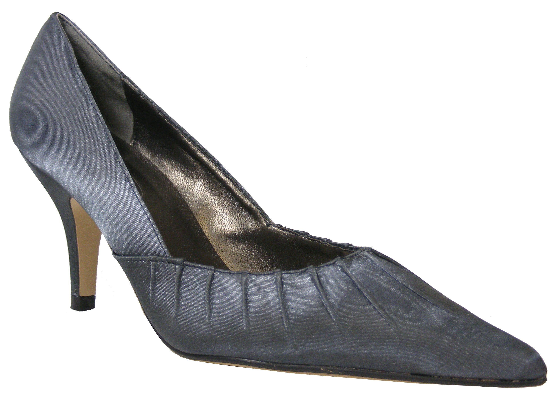 Pewter Grey Wedding Shoes
