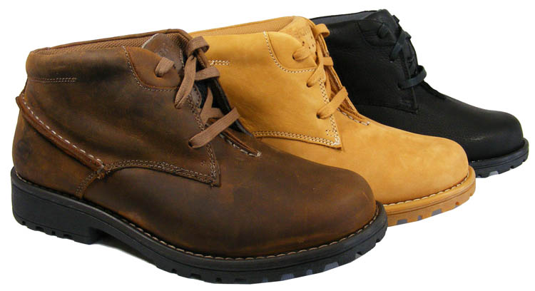 8bb70e0559 Image is loading NEW-Mens-LEATHER-SKECHERS-Work-Boot-Men-Ankle-