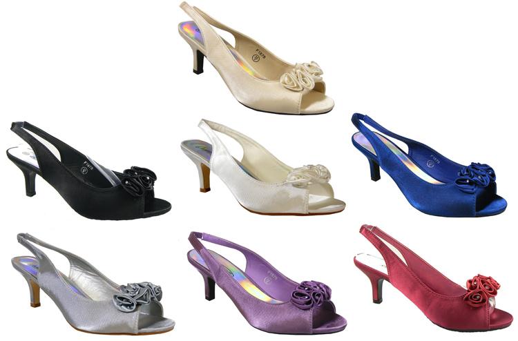 Low Heel Blue Slingback Shoes Very Co Uk