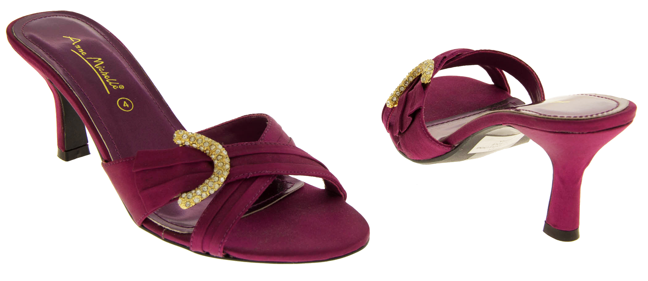 Plum Formal Shoes Size