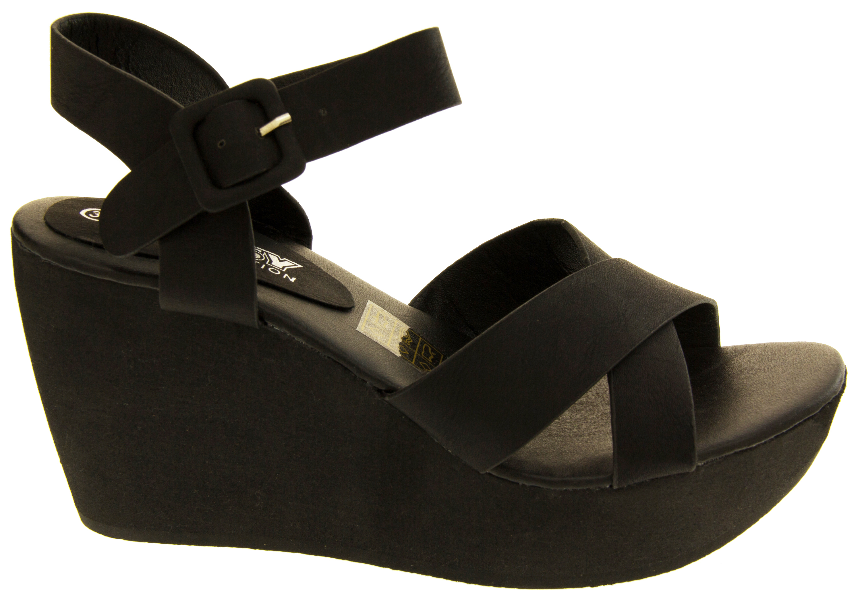 Ladies Platform Wedge Sandals Stylish Fashion Designer ...