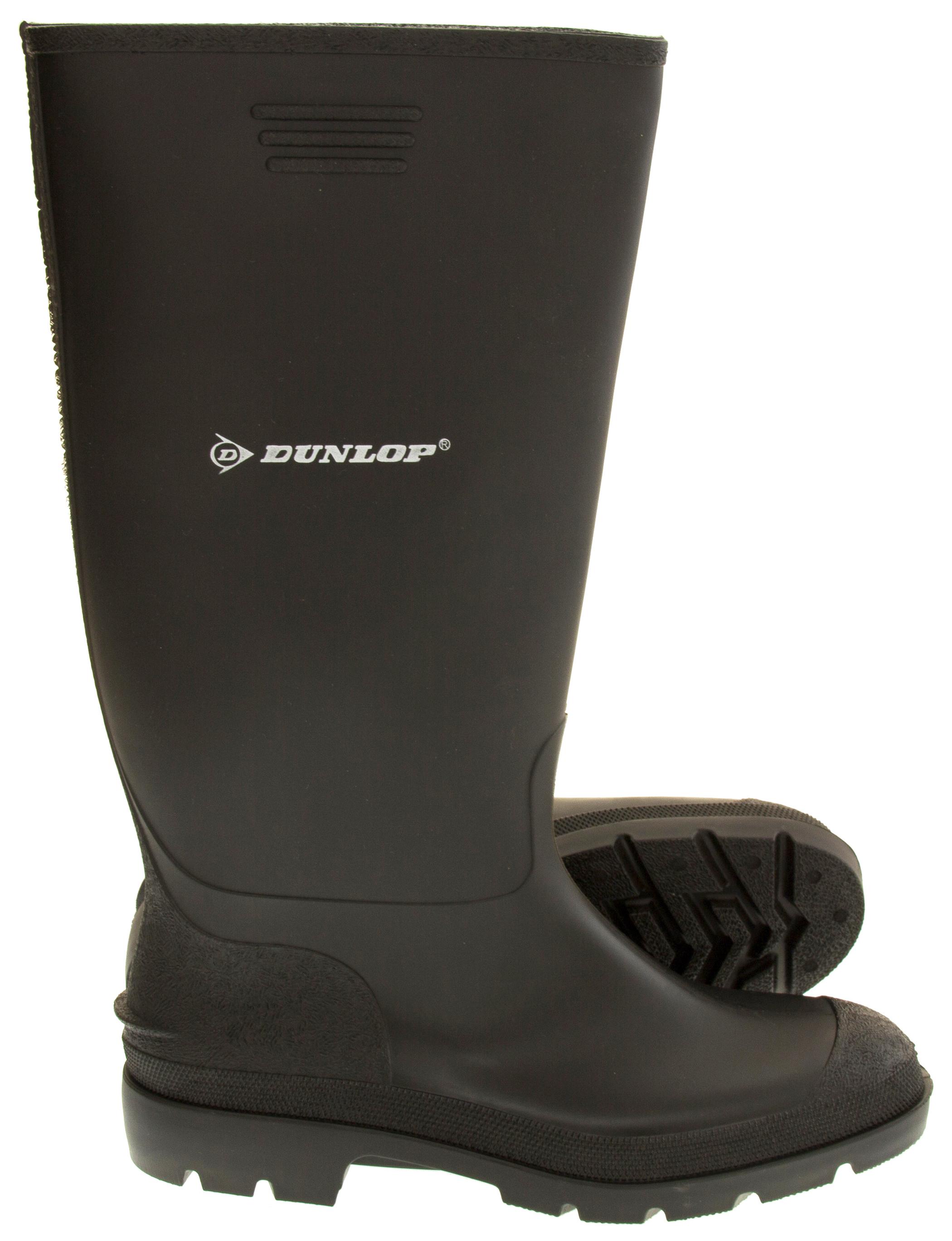 Mens dunlop waterproof wellington boots garden boot for Mens garden boots