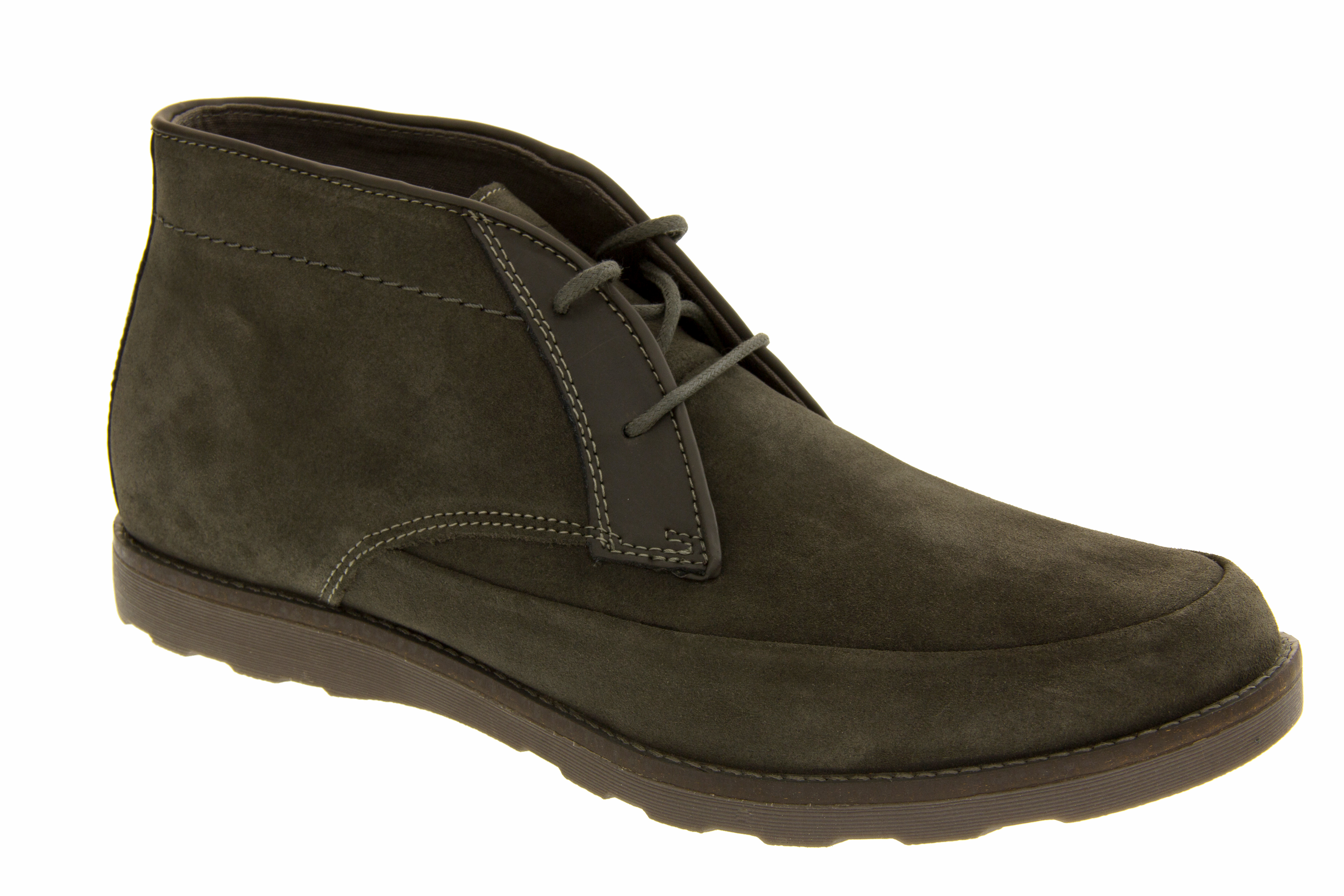 mens skechers real suede boots casual lace up leather desert ankle boot size 6 5 ebay. Black Bedroom Furniture Sets. Home Design Ideas