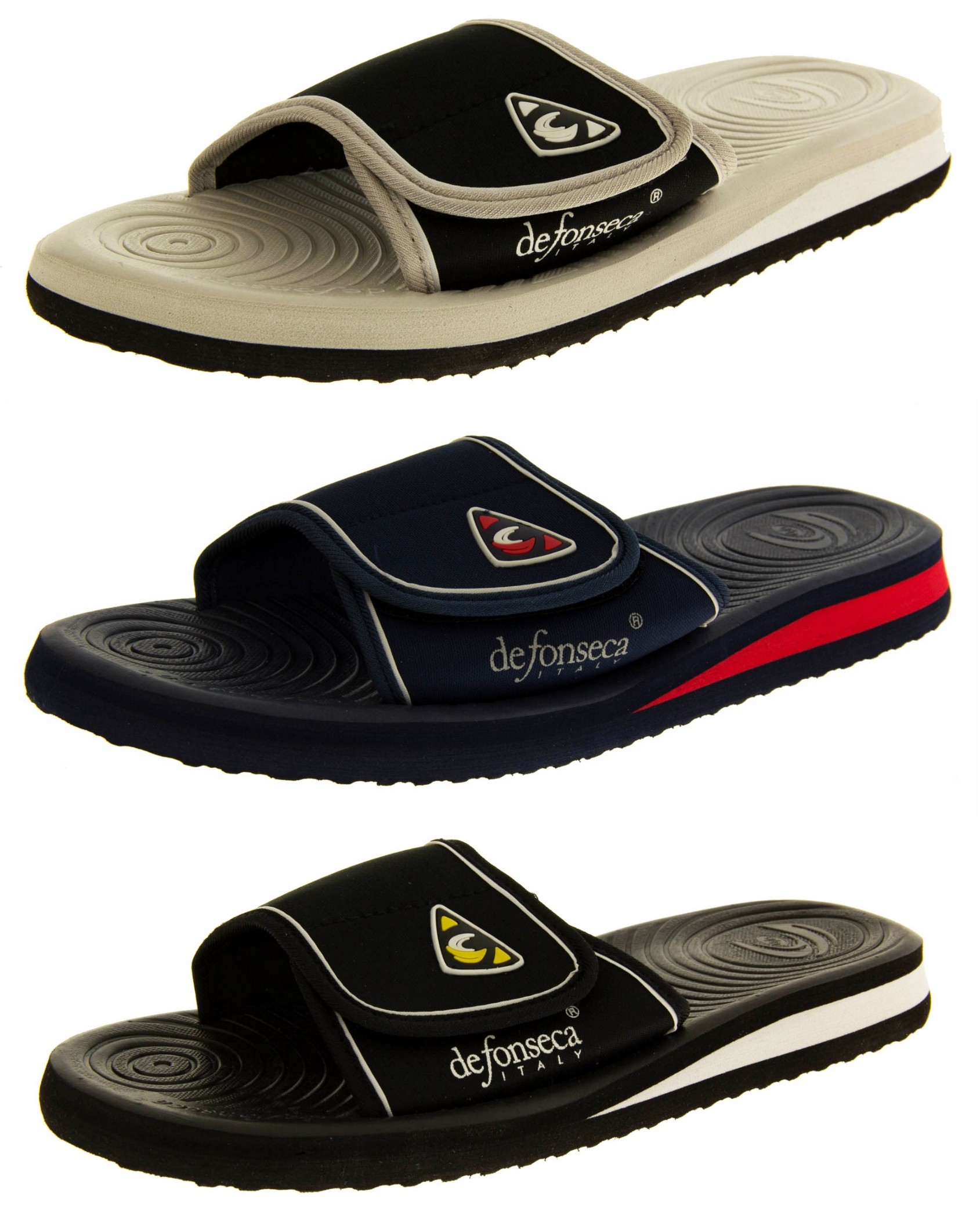 Mens Summer Flip Flops Sandals Beach and Pool Shoes Size 6 ...