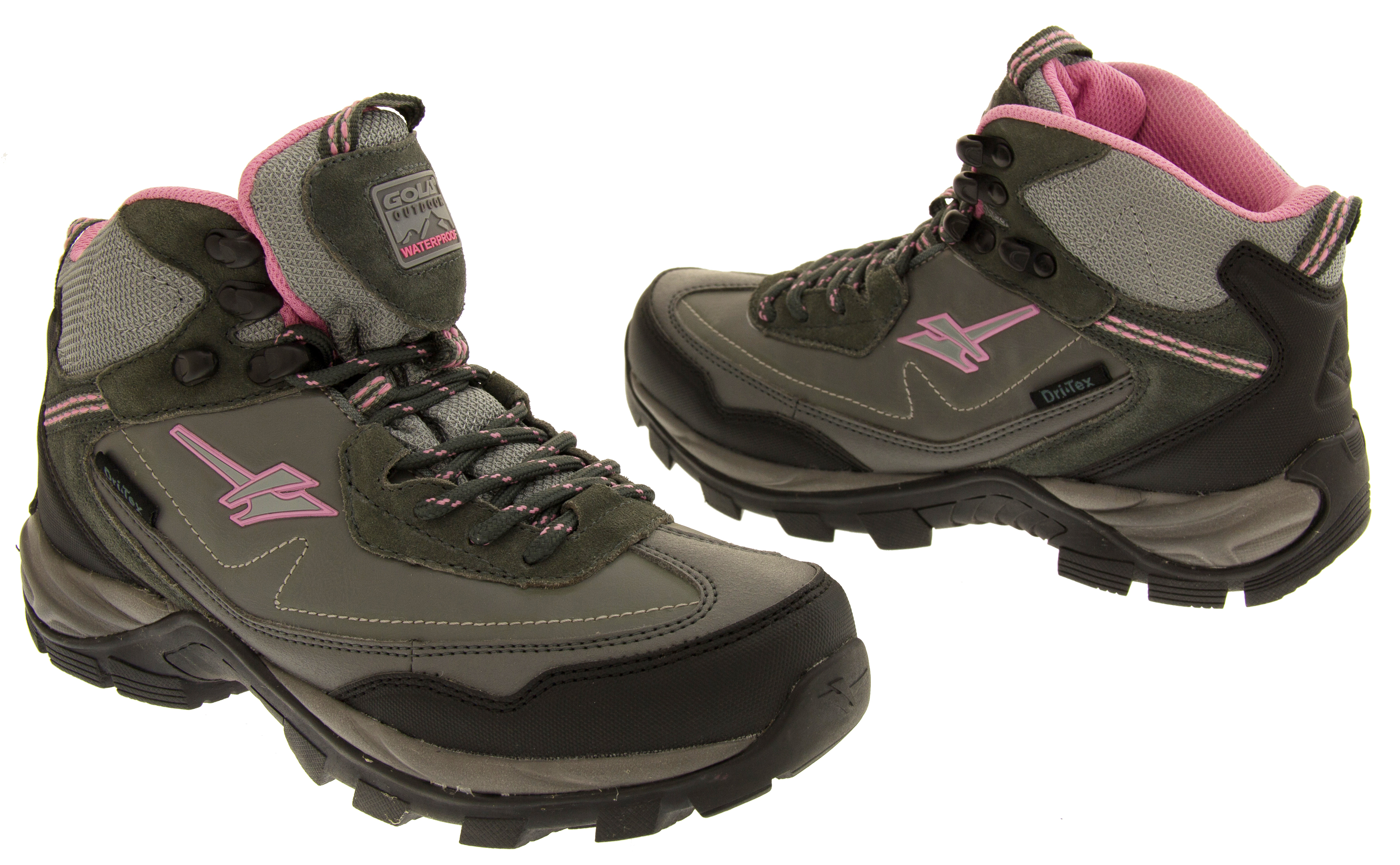gola waterproof hiking boots womens walking trail