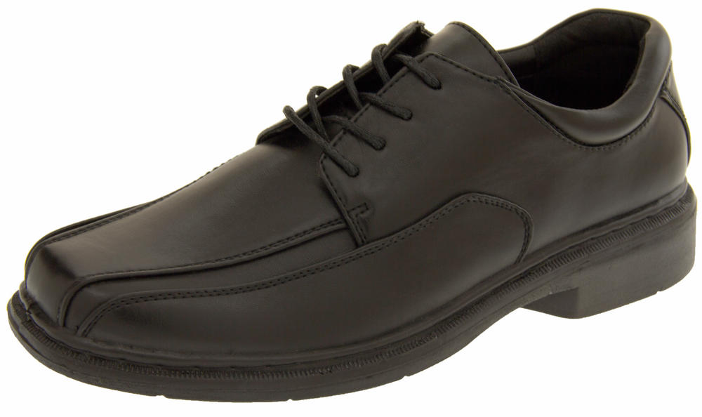 Mens Classics Andrew Faux Leather Lace Up Formal Shoes