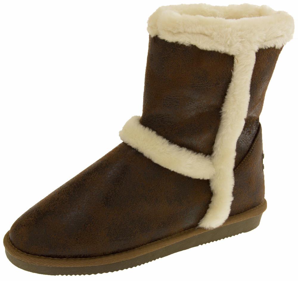 Ladies RED ROCK Faux Fur Lined Winter Boots