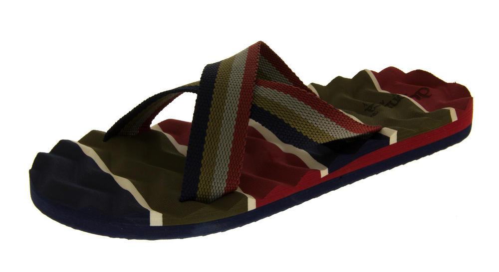 Mens De Fonseca Fauno Summer Flip Flops Sandals