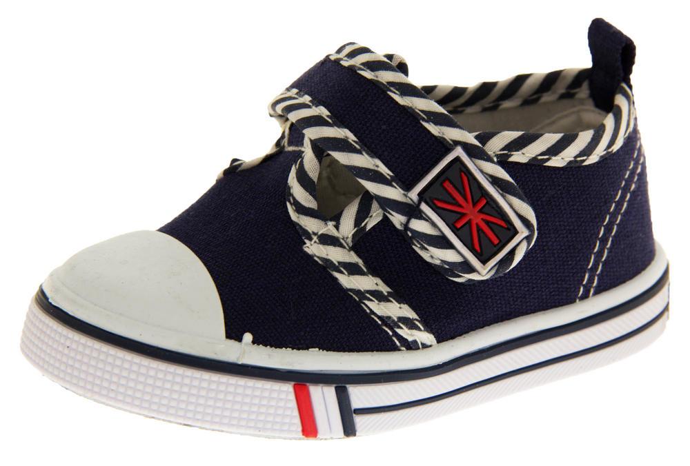 Boys Girls Unisex De Fonseca Giancio 2  Canvas Velcro Fastening Shoes