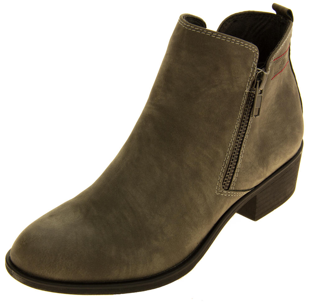 Ladies S.Oliver 25302-27 Suede Effect Ankle Boots