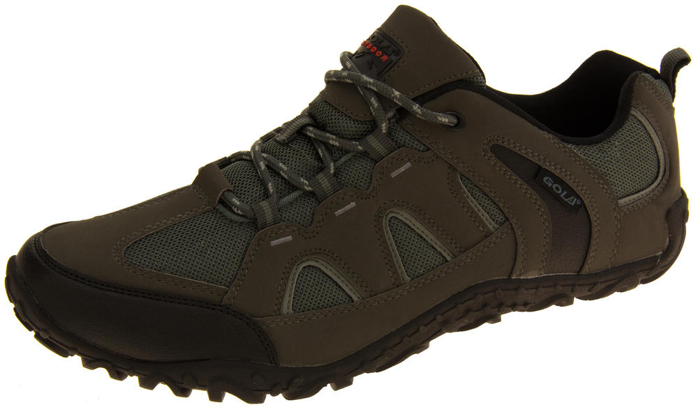 Mens Gola Faux Leather Ankle Urban Trekking Shoes