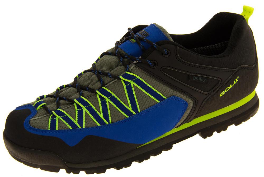 Mens Gola Grey Waterproof Outdoor Hiking Trekking Walking Shoes